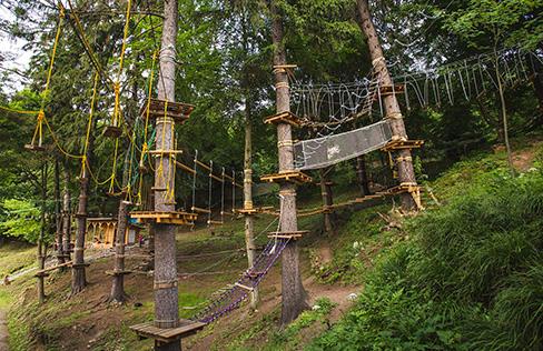 Parc Aventură Băile Tuşnad - trasee