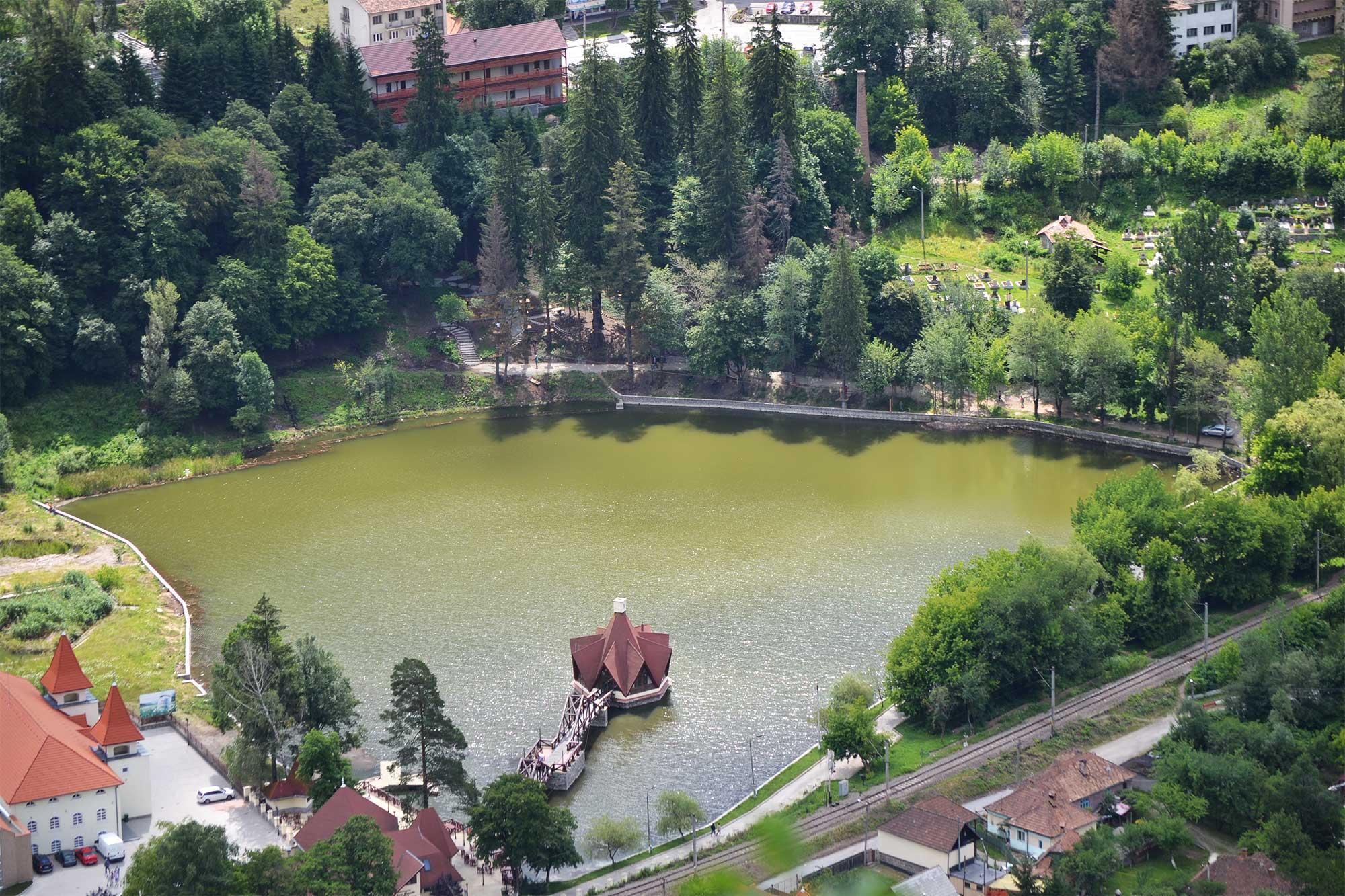 Parc Aventură Băile Tuşnad - vedere ansamblu